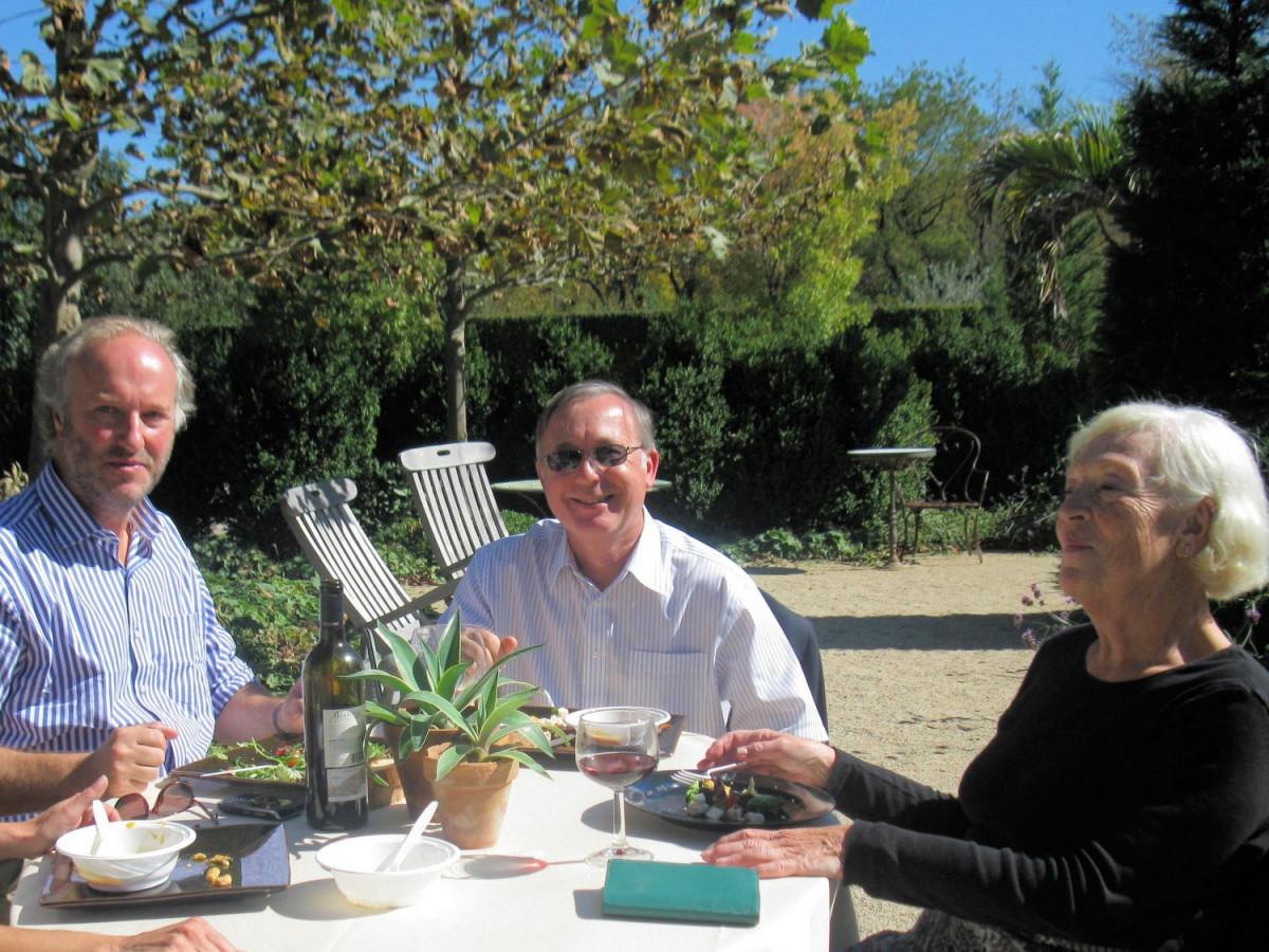 De gauche à droite : Patrick Salembier (Président d'EBTS France - Editeur) – Lynn R. Batdorf (auteur) - Martine Higonnet (traductrice)