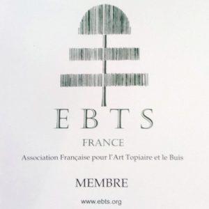 Plaque emaillee EBTS France