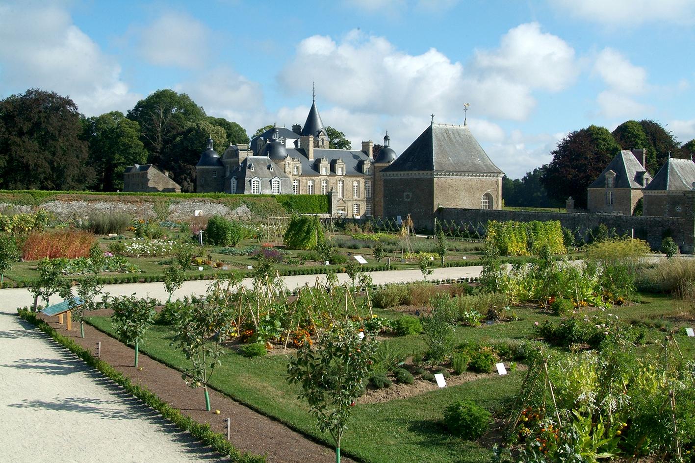 La Bourbansais Jardin Potager 9407.JPG
